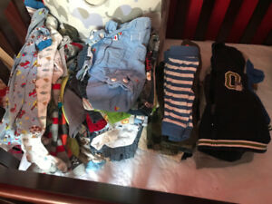 Baby boy clothes 0-3 months and some 3-6