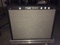 Fender Deville combo and flight case