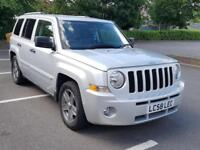 2008 Jeep Patriot 2.4 4X4 CVT Petrol Manual Silver 5dr FSH VGC Long MOT Warranty