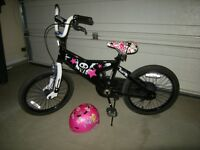 KIDS STONERIDGE BICYCLE WITH HELMET