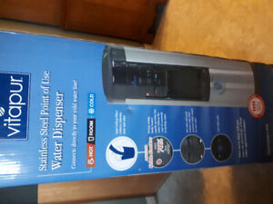 New Vitapur Stainless Steel point of use water cooler in box