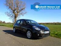 2009/59 RENAULT CLIO 1.5 DCI DYNAMIQUE DIESEL 5DR BLACK + £30 TAX - UP TO 72 MPG