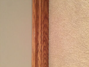 Solid Oak Baseboards