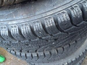 155/80/R13 winter tires with rims!  Cornwall Ontario image 2