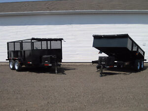 ###  Dump Trailers - Tilt Deck - Flat bed  For SALE   ###