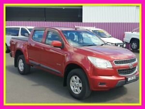 2012 Holden Colorado RG LT (4x4) Red 5 Speed Manual Crew Cab Pickup Dubbo Dubbo Area Preview