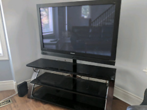 50 inch TV and stand $200