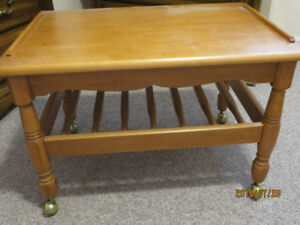 Roxton Maple TV Stand,  Like new