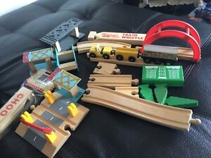 Wooden train. AVAILABLE