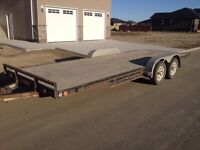 2007 PJ 8x20 car trailer