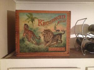 Knickerbocker Mills Wooden Box Crate