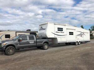 RV Camper Trailer Towing Delivery Service