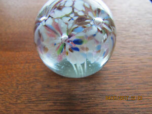 Small Vintage Paperweight