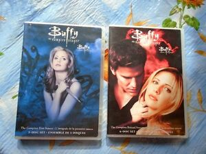 Selling all seasons of buffy and 3 twilight dvds