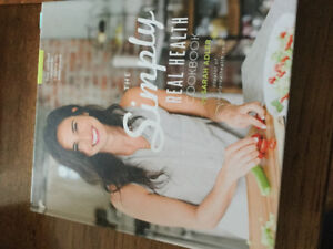 EAT HAPPY - Gluten Free and THE SIMPLY REAL HEALTH  COOKBOOK