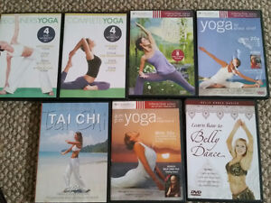 Yoga taichi and belly dancing