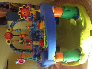 Exersaucer & other items