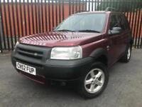 2002 (52) Land Rover Freelander 1.8 ES *** SPARES OR REPAIRS ***