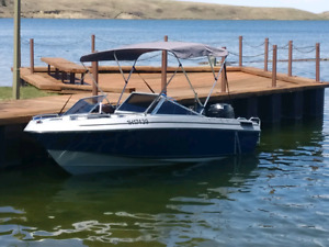 Invader Boat with 150HP Mercury outboard