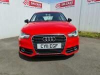 2011 11 AUDI A1 1.6 TDi SPORT 3 DOOR IN PEARL RED WITH SUBBTLE MODIFICATIONS .
