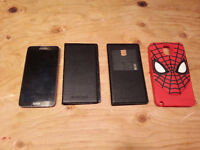 UNLOCKED Galaxy Note 3 with screen protector and cases