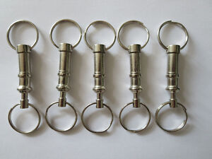 Key Chain, Pull Apart Key Chain, Key Ring , Quick Release