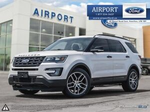 2016 Ford Explorer Sport 4WD with only 66,851 kms