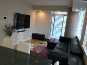 1 bedroom + den and parking in downtown Ottawa