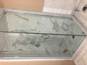 Frameless GLASS shower, glass RAILING for your home and Business