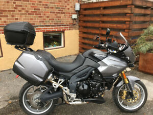 It's a beauty - 2011 Triumph Tiger - LOW Kms - HIGH performance