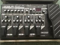 Boss Me70 with Swansflight Hardcase and OneSpot Powersupply
