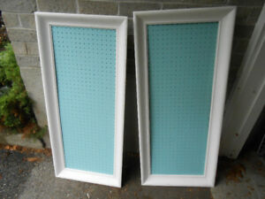 picture frames peg board