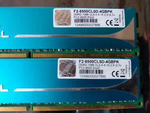 4 GB G.Skill DDR2/1066/5-5-5-15/2.1V/2x2GB