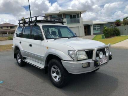 2000 Toyota LandCruiser Prado GXL! Dual fuel! VGC Underwood Logan Area Preview