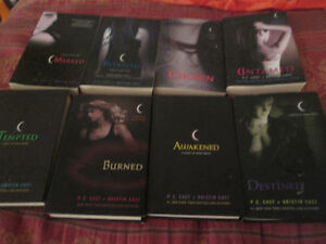 8 out of 12 house of night novels