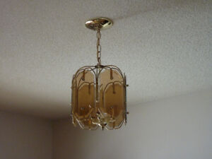 3 Ceiling Lights & 3 Wall Sconces