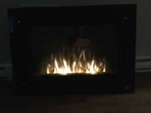 Like new Napoleon electric fireplace
