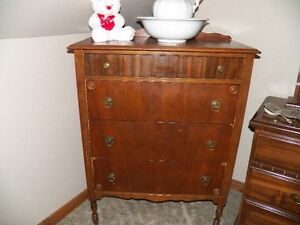 Antique dresser and chest for sale