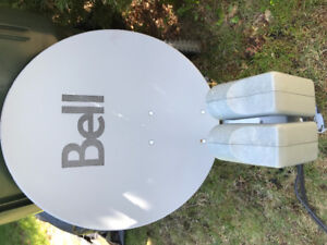 Bell satellite dish HD
