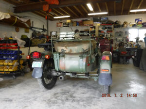 2007 Russian Ural Gear Up Motorcycle