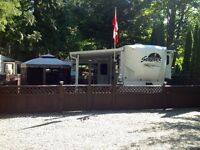 RV Lot & 5th Wheel - Harrison Holiday Park, Harrison BC