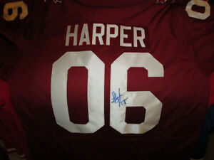 Stephen Harper Autographed Team Canada Hockey Jersey