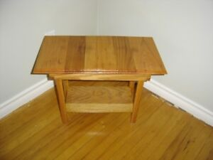 Hand Crafted Oak Stand