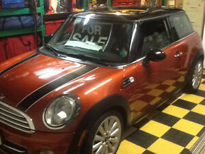 2012 MINI Mini Cooper Factory stripe kit Coupe (2 door)