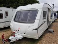 SUPERB 2007 Abbey GTS 418 Fixed Bed Caravan, Full Awning, Motor Mover