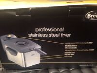 Breville Professional stainless steel fryer