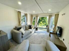 River front lodge chalet holiday home for sale Lake District Cumbria Penrith