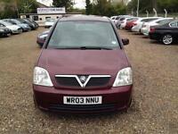 Vauxhall/Opel Meriva 1.6i ( a/c ) 2003MY Enjoy