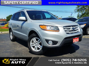 2010 Hyundai Santa Fe GLS | AWD | LOW KMS | SAFETY CERTIFIED
