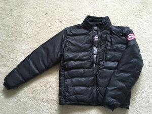 Two Men's Canada Goose Items: Vest (XXL) + Jacket (XL)